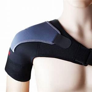 Adjustable Breathable Gym Sports Care Single Shoulder ...
