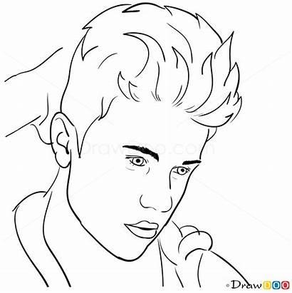 Bieber Justin Draw Drawing Cartoon Magazine Rolling