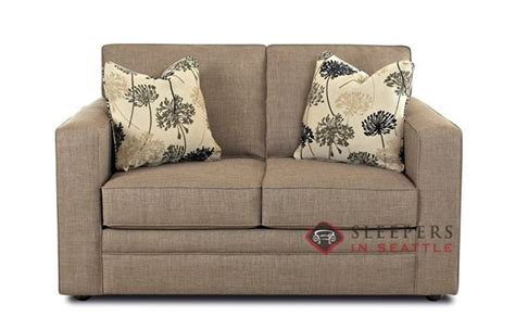 sofa bed loveseat size customize and personalize boston fabric sofa by savvy