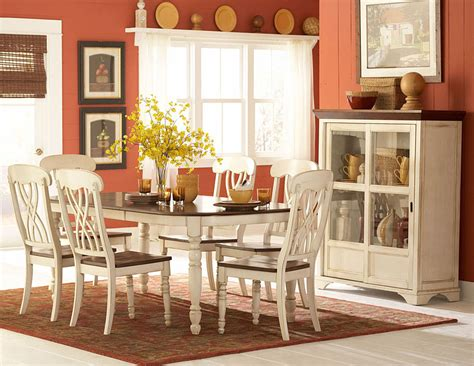 ohana white dining room table dining room sets