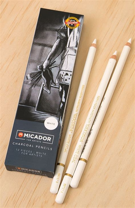 pencil charcoal generals white skout office supplies
