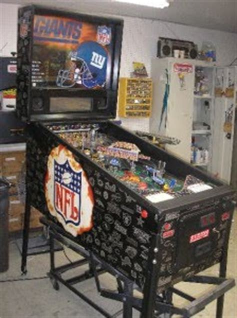 ny giants nfl football pinball machine game  sale