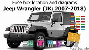 Fuse Box Location And Diagrams  Jeep Wrangler  Jk  2007