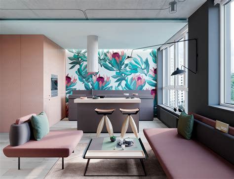 Interior Design Using Pink And Green: 3 Examples To Help