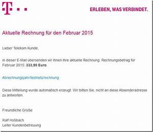 Telekom Rechnung Nicht Bezahlt Was Passiert : achtung gef lschte telekom rechnung februar ist ein trojaner mimikama ~ Themetempest.com Abrechnung