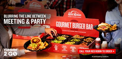 Welcome to Red Robin Gourmet Burgers and Brews