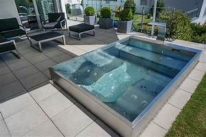 Kleiner Pool Für Terrasse : wohnideen interior design einrichtungsideen bilder edelstahl g rten und terassen ~ Sanjose-hotels-ca.com Haus und Dekorationen