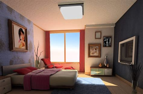 Ideas For Decorating A Bedroom Wall by Bedroom Wall Decoration Ideas 3d House Free 3d House