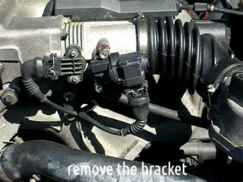 bmw  diy idle control valve icv cleaning youtube