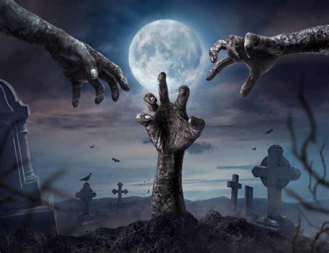 zombie halloween hands rising dark night hand theme zombies premium graphics disease freepik concept royalty save