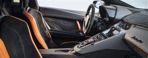 lamborghini aventador svj roadster interior lamborghini aventador svj orange interior o lamborghini palm beach