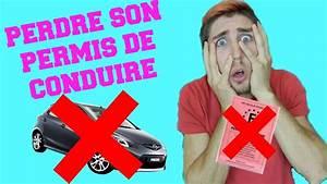 Cerfa Perte Permis De Conduire : perdre son permis de conduire youtube ~ Gottalentnigeria.com Avis de Voitures
