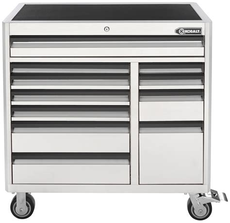 new white kobalt 41 tool chest combo