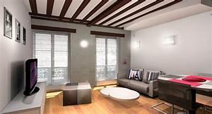 Décoration Appartement Moderne : d coration appartement mon cot moderne ~ Nature-et-papiers.com Idées de Décoration