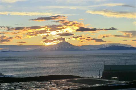 mcmurdo station antarctica sunrise sunset times