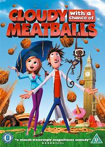 Cloudy, With, A, Chance, Of, Meatballs, Dvd