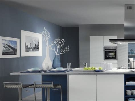 cuisine bleu pastel murs pastel bleu cuisine ixina keuken