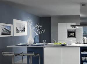 deco cuisine peinture murs With murs de cuisine décoration