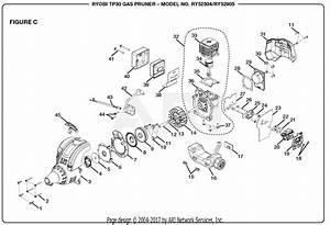 Homelite Ry52504 Gas Pruner  Tp30  Parts Diagram For Figure C