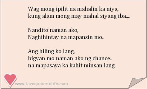 Quotes And Inspiration About Love  Tagalog Love Quotes