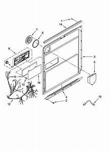 Door And Latch Parts Diagram  U0026 Parts List For Model