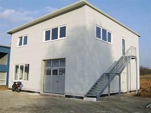 Kleine Halle Bauen : werkstatt mit wohnung 03 planen und bauen hallenbau werkhallen ~ Frokenaadalensverden.com Haus und Dekorationen