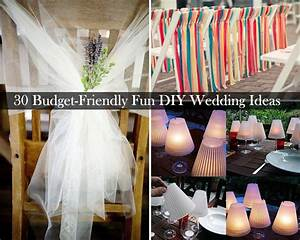 Diy wedding decorations romantic decoration for Wedding decorations on a budget