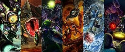 Zelda Ocarina Legend Background Bosses Link Wallpapers
