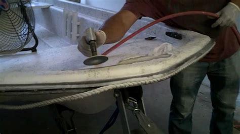 fiberglass gelcoat boat repair service kendall