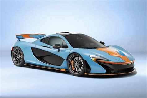 mclaren p1 colors mclaren p1 in gulf racing color scheme hypebeast
