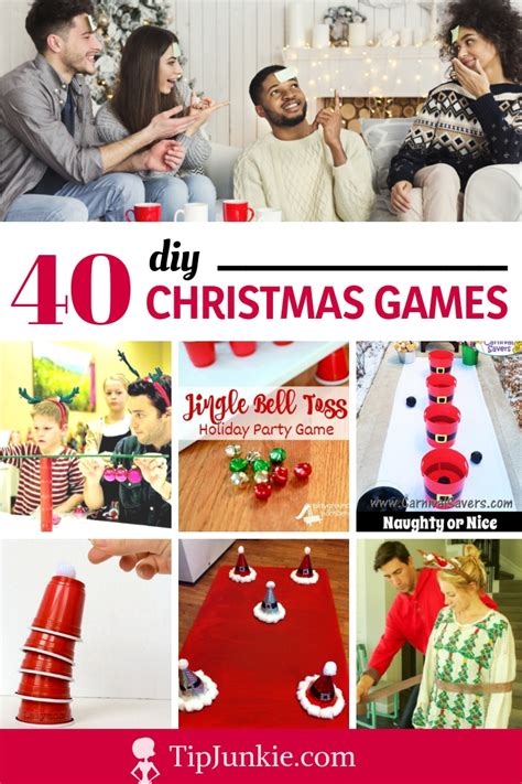 christmas games party themes  parties