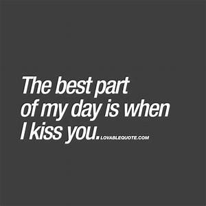 Lovable Quotes ... Kiss Day Romantic Quotes