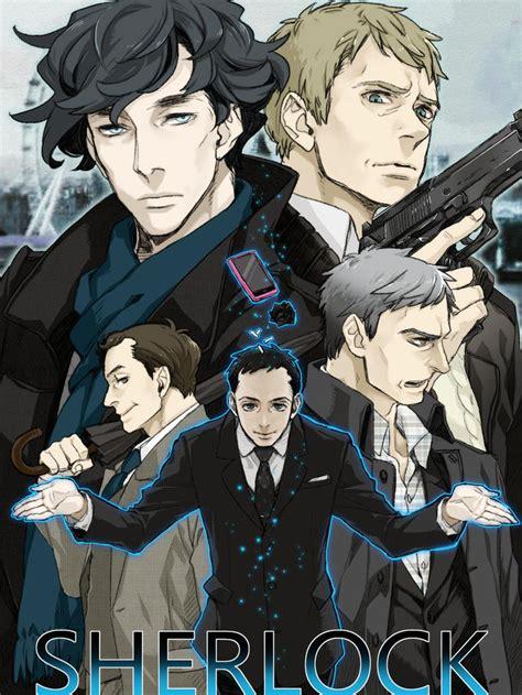 sherlock anime were kym i1 watson bbc manga john series fanfic fanart benedict