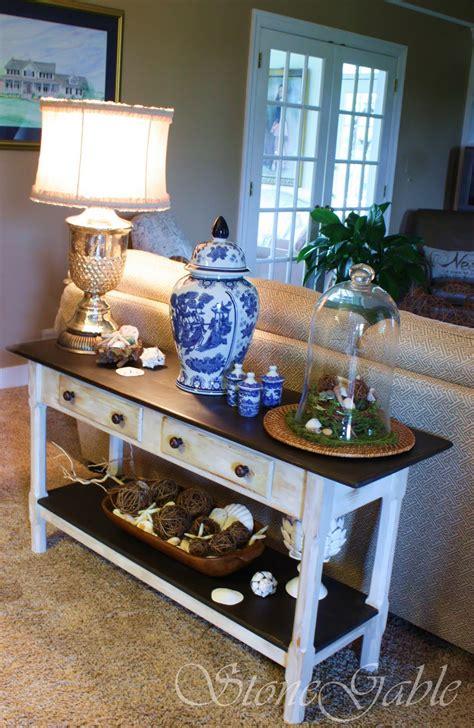 painted sofa table stonegable