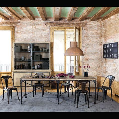 cuisine deco industrielle l 39 incontournable style industriel selon maisons du monde