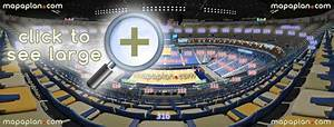 Kings Arena Seating Chart Smoothie King Center Arena Seat Row Numbers Detailed
