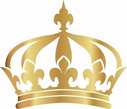 Crown Transparent Clipart Golden Queen Painted King