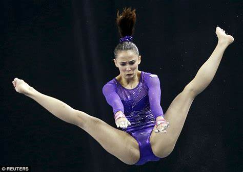 Narrow Gym Tights Gymnasts Farah Ann Abdul Hadi Criticised Over Sea Games Thong Is