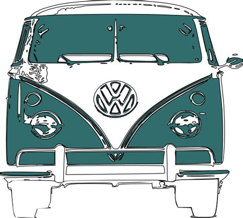 cartoon car png vw cer van clip art at clker com vector clip art
