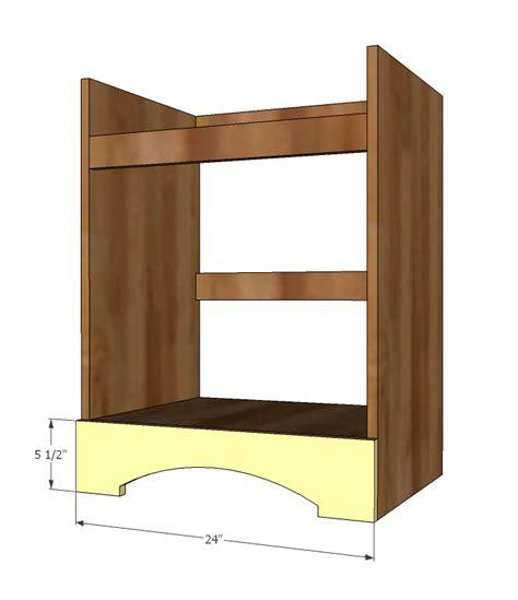 Bathroom Vanity Plans by Bathroom Vanity Woodworking Plans Woodshop Plans