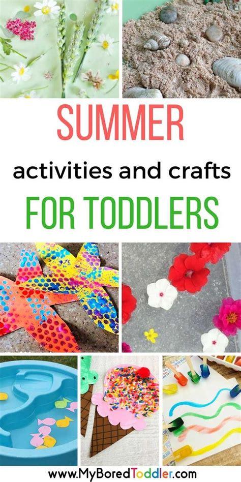 summer activities  toddlers summer activities