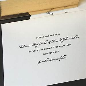 the 25 best black tie invitation ideas on pinterest With letterpress wedding invitations montreal