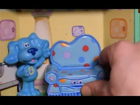 blues clues play  pretend playset blues room toy fisher