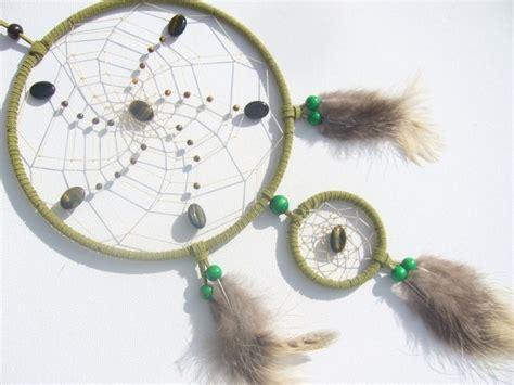 foto de Grüner Traumfänger Dreamcatcher mit Tigerauge von