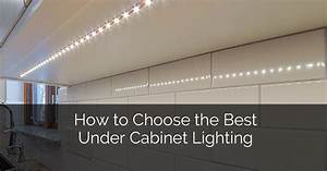 How to Choose The Best Under Cabinet Lighting Home