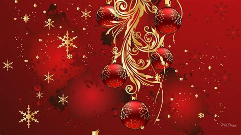 glitter christmas wallpapers wallpaper cave
