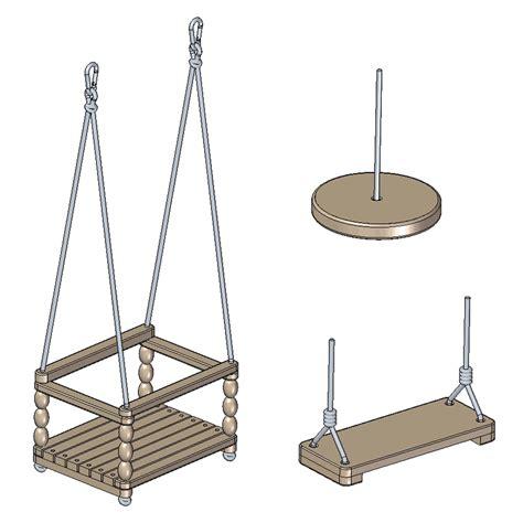 child swing seats plans
