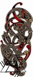 Tatouage Loup Celtique : norse sleeve ideas tattoos pinterest tatouage tatouage viking et tatoo ~ Farleysfitness.com Idées de Décoration