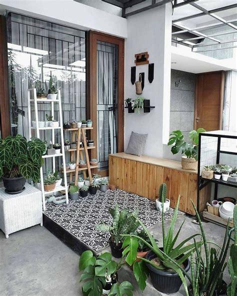 inspirasi teras rumah minimalis asri credit