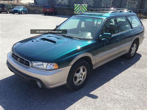1999 Subaru Legacy Outback Limited Wagon 4 Door
